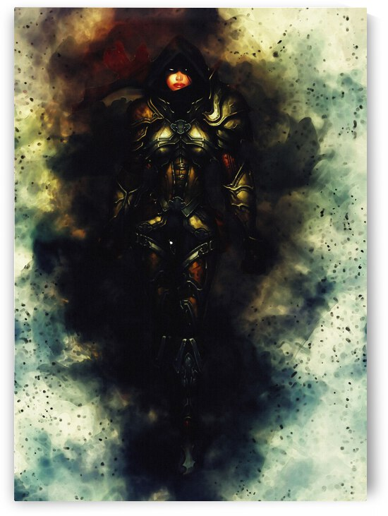 Diablo 3 Demon Hunter female by Gunawan Rb