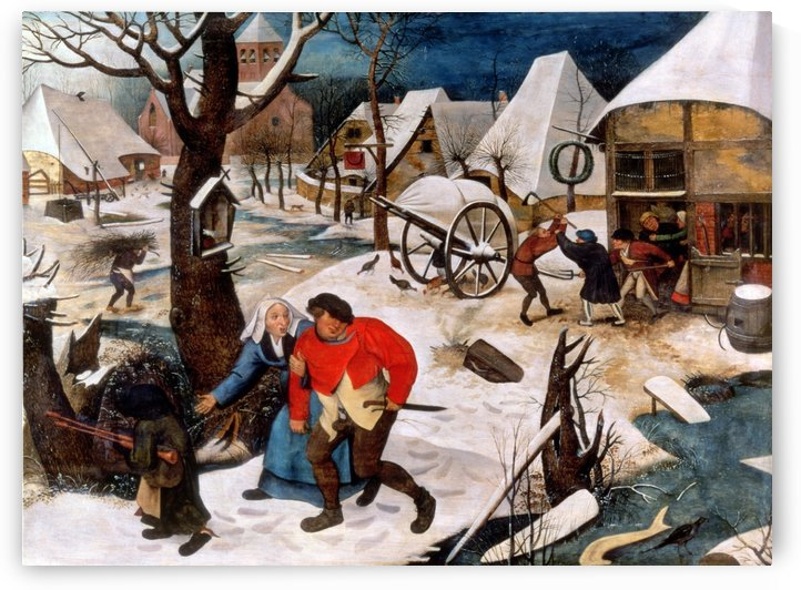 Return from the Inn by Pieter Brueghel the Younger