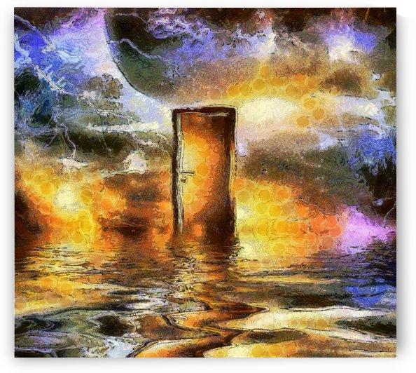 Doorway in Cosmic Space by Bruce Rolff