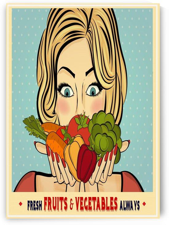 fresh fruits & vegetables always by Gunawan Rb