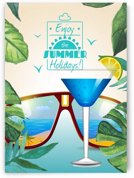 Enjoy The Summer Holiday with Blue Lagune by Gunawan Rb