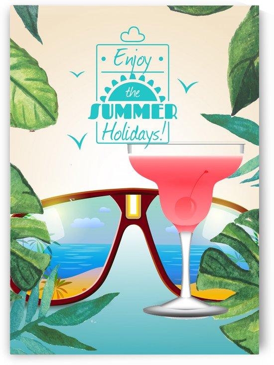 Enjoy The Summer Holiday with Strawberry Daiquiri by Gunawan Rb