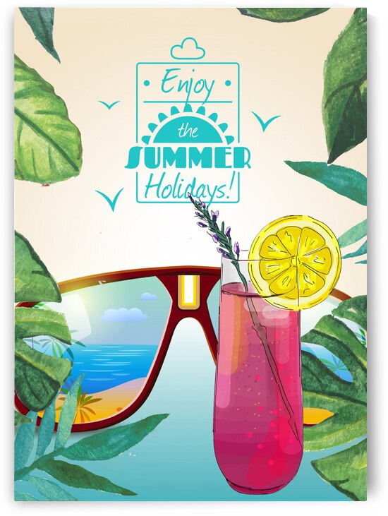 Enjoy The Summer Holiday with The Purple one by Gunawan Rb
