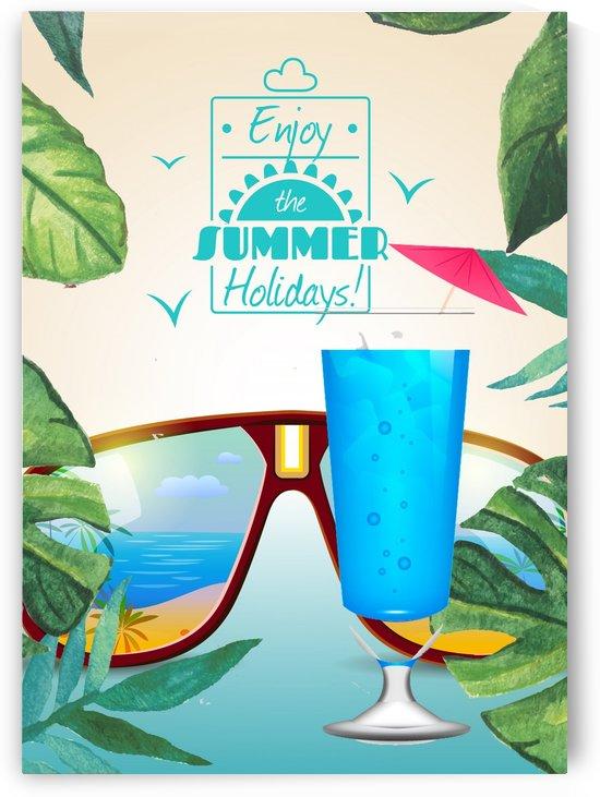 Enjoy The Summer Holiday with Blue Hawaii by Gunawan Rb