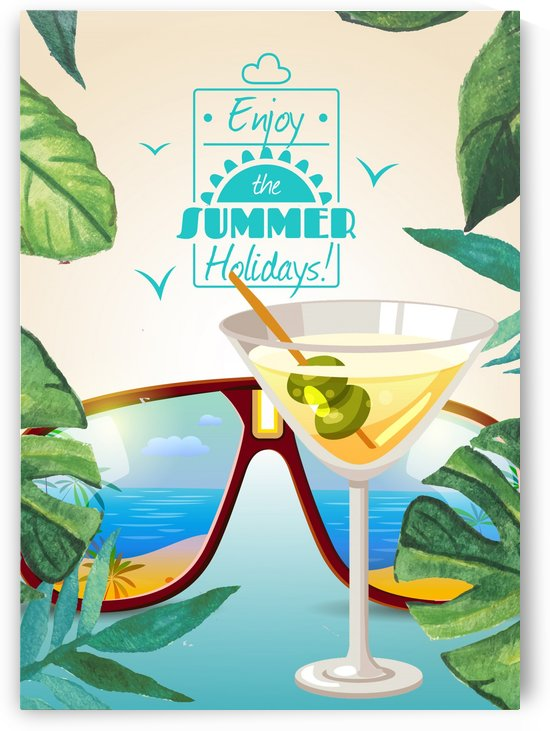 Enjoy The Summer Holiday with Classic Margarita by Gunawan Rb