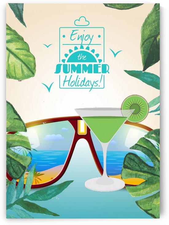 Enjoy The Summer Holiday with Kiwi Martini by Gunawan Rb
