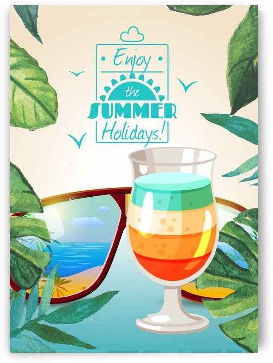 Enjoy The Summer Holiday with Rainbow Cocktail by Gunawan Rb