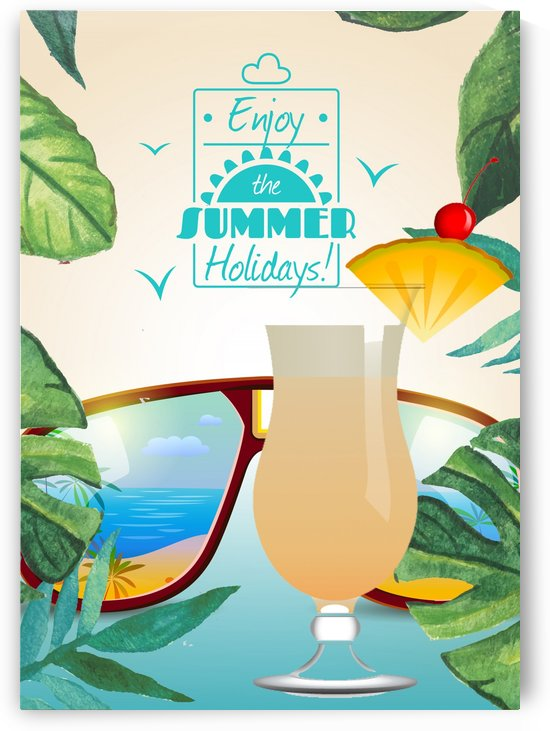 Enjoy The Summer Holiday with Pina Colada by Gunawan Rb