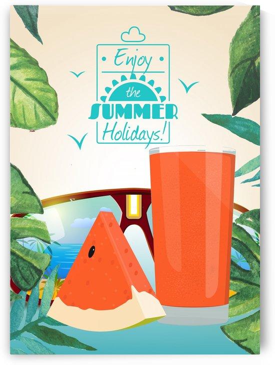 Enjoy The Summer Holiday with Watermelon Lemonade by Gunawan Rb