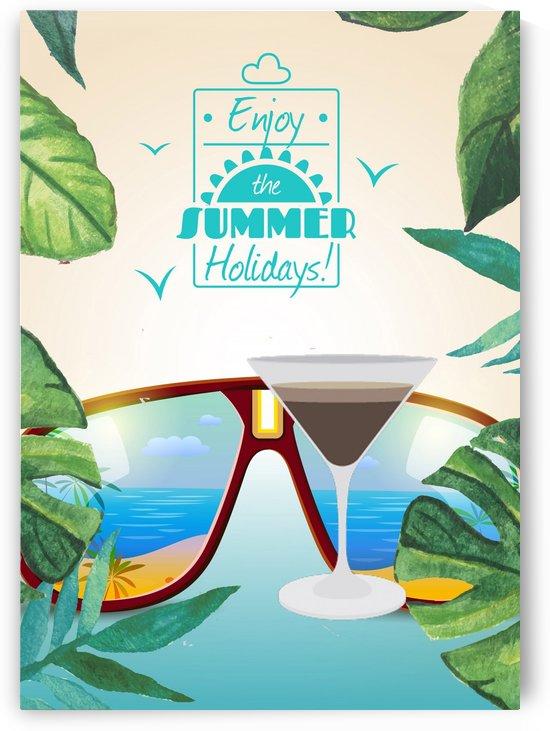 Enjoy The Summer Holiday with Espresso Martini by Gunawan Rb