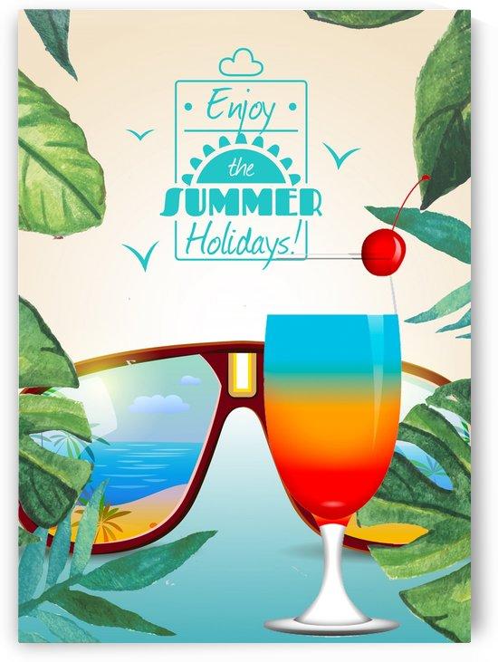 Enjoy The Summer Holiday with Rainbow by Gunawan Rb