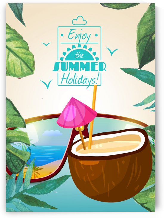 Enjoy The Summer Holiday with Coconut Cocktail by Gunawan Rb