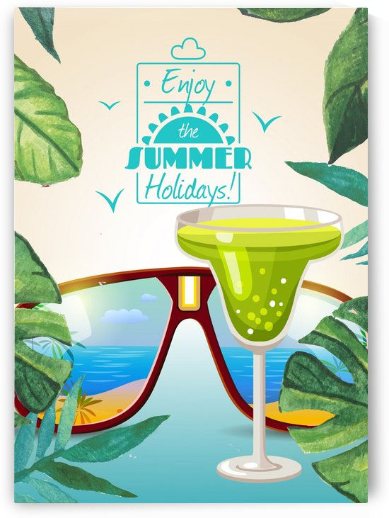 Enjoy The Summer Holiday with Midori Illusion by Gunawan Rb