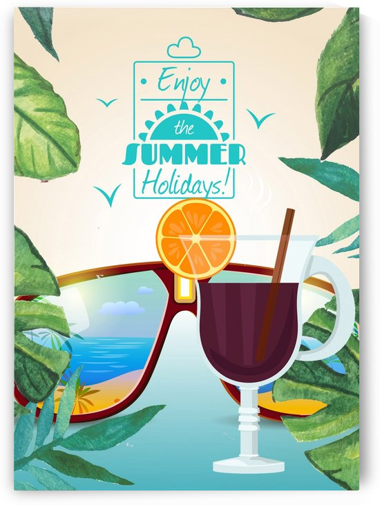 Enjoy The Summer Holiday with Mulled Wine by Gunawan Rb