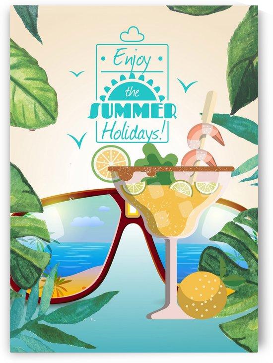 Enjoy The Summer Holiday with Michelada Fruits by Gunawan Rb