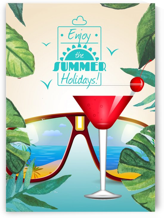 Enjoy The Summer Holiday with Cosmopolitan by Gunawan Rb
