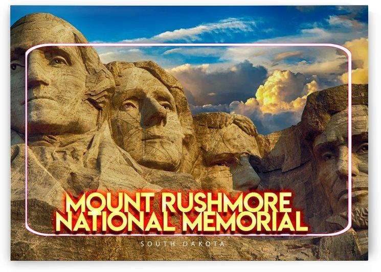 Mount Rushmore National Memorial   Keystone, South Dakota by Gunawan Rb