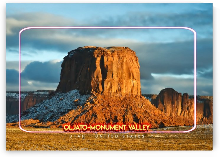 Oljato Monument Valley United States by Gunawan Rb