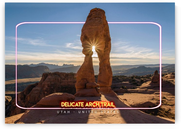 Delicate Arch Trail, Utah   United States by Gunawan Rb