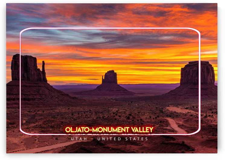 Oljato Monument Valley   Utah United States by Gunawan Rb