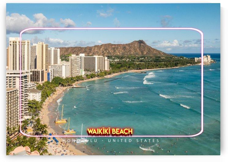 Waikīkī Beach, Honolulu, United States by Gunawan Rb
