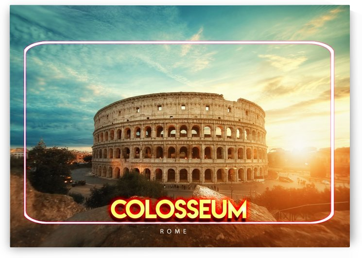 The Colosseum   Rome by Gunawan Rb