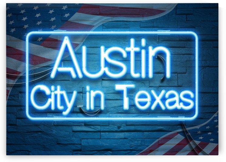 Austin City in Texas by Gunawan Rb
