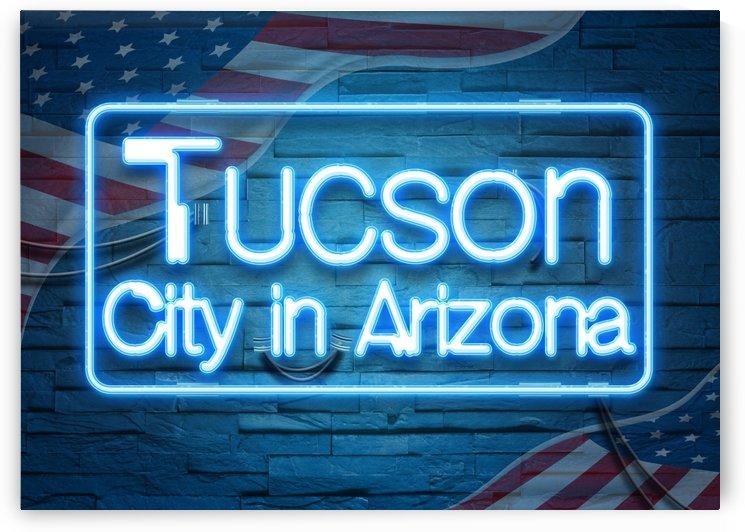 Tucson City in Arizona by Gunawan Rb