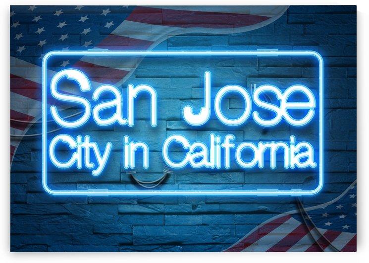 San Jose City in California by Gunawan Rb