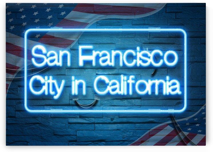 San Francisco City in California by Gunawan Rb