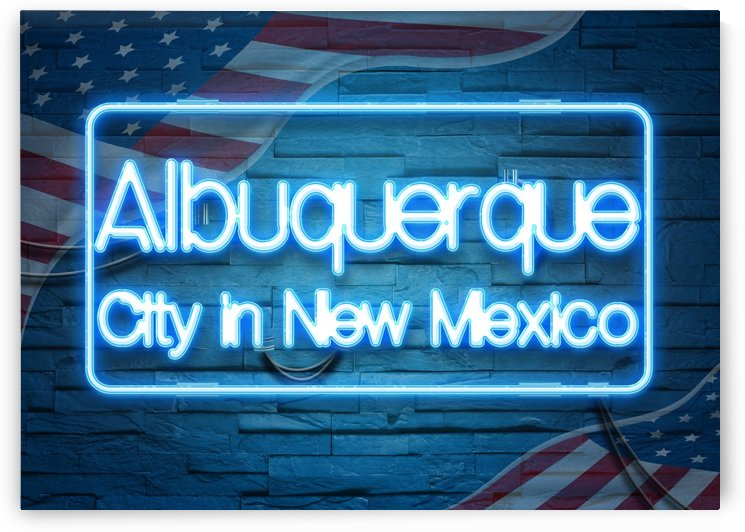 Albuquerque City in New Mexico by Gunawan Rb