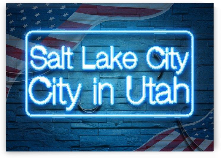 Salt Lake City City in Utah by Gunawan Rb