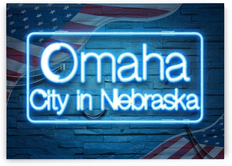 Omaha City in Nebraska by Gunawan Rb