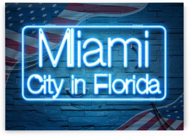 Miami City in Florida by Gunawan Rb