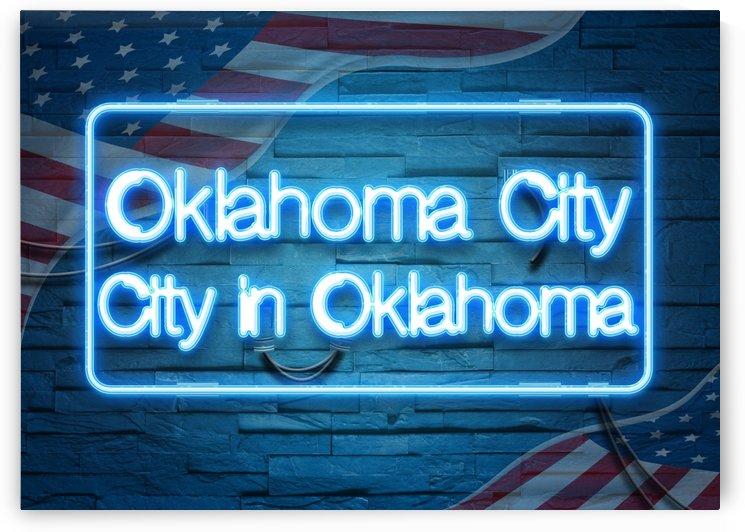 Oklahoma City City in Oklahoma by Gunawan Rb