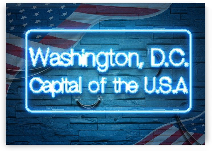 Washington  D C  Capital of the U S A by Gunawan Rb
