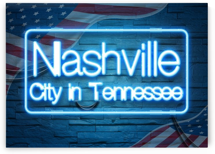 Nashville City in Tennessee by Gunawan Rb