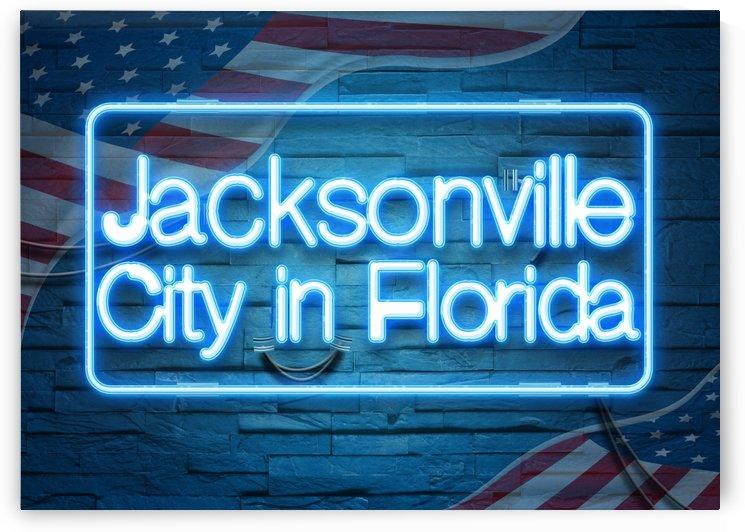 Jacksonville City in Florida by Gunawan Rb