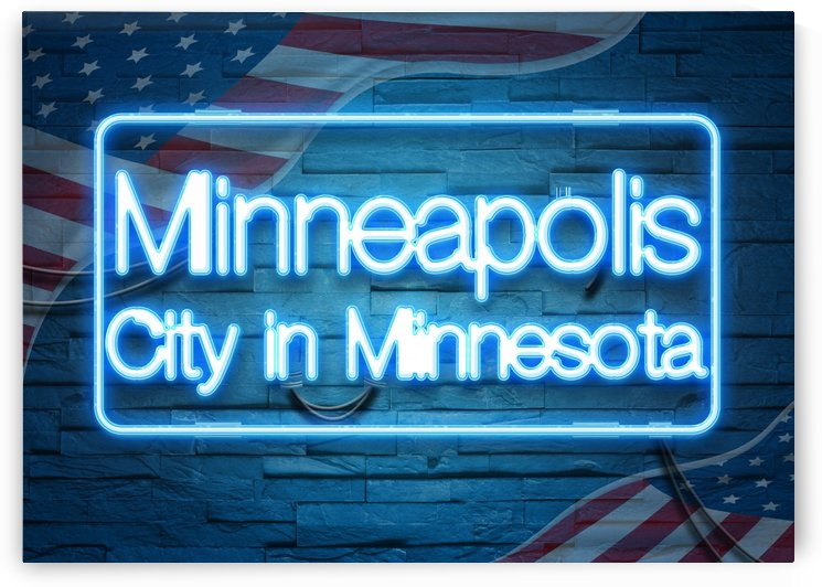 Minneapolis City in Minnesota by Gunawan Rb
