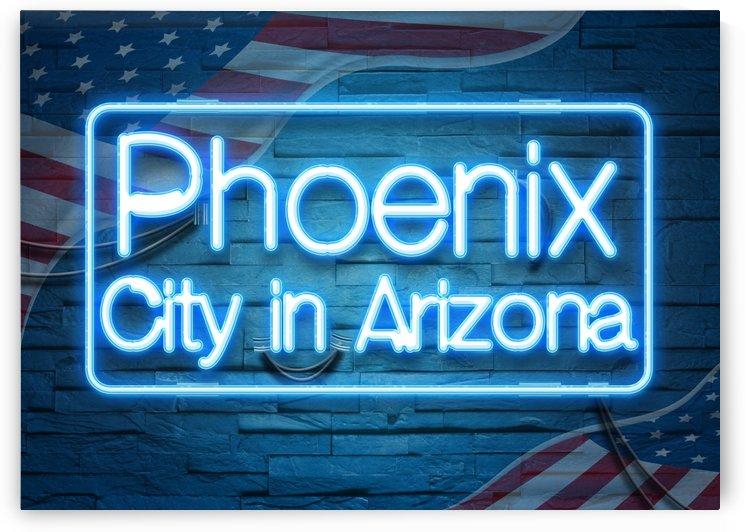 Phoenix City in Arizona by Gunawan Rb