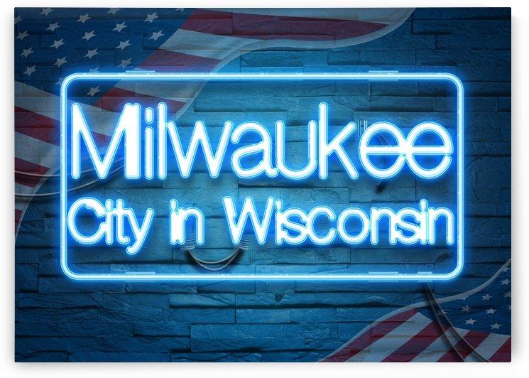 Milwaukee City in Wisconsin by Gunawan Rb