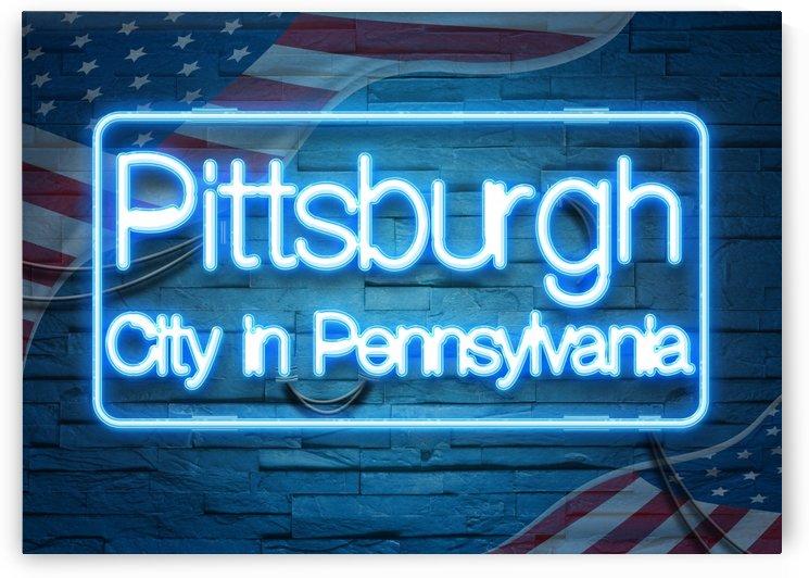Pittsburgh City in Pennsylvani by Gunawan Rb