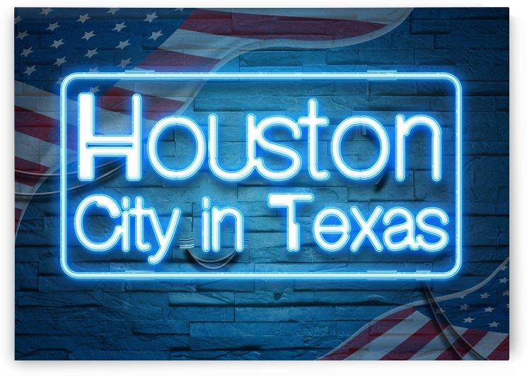 Houston City in Texas by Gunawan Rb