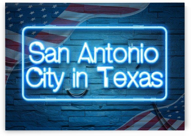 San Antonio City in Texas by Gunawan Rb