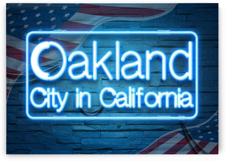 Oakland City in California by Gunawan Rb