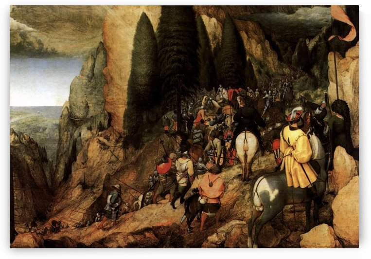 The conversion of Saul by Pieter Brueghel the Elder