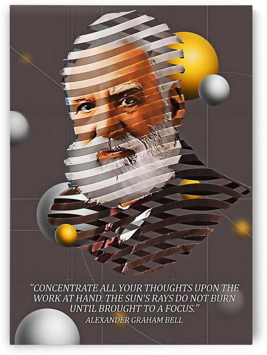Alexander Graham Bell2 by Gunawan Rb