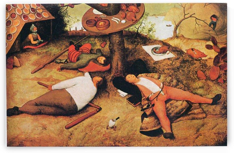 Land of Cockaigne by Pieter Brueghel the Elder