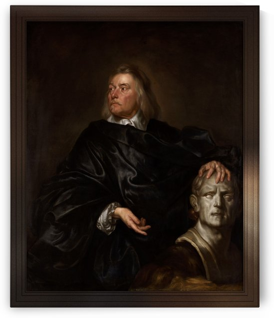 Edward Pierce by Isaac Fuller Old Masters Prints Reproduction by xzendor7