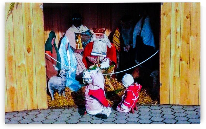 Hungarian Nativity Scene by Arsenio Di Donato